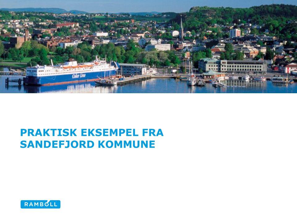 Praktisk eksempel fra Sandefjord kommune
