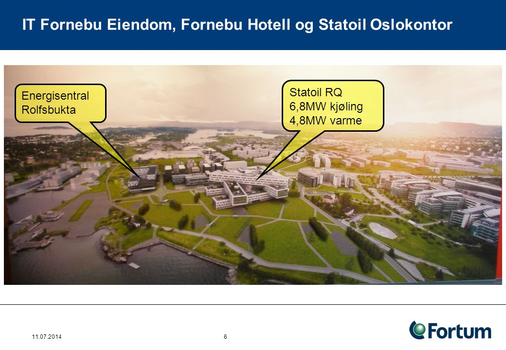IT Fornebu Eiendom, Fornebu Hotell og Statoil Oslokontor