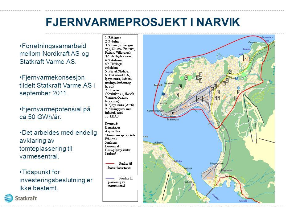 fjernvarmeprosjekt i Narvik