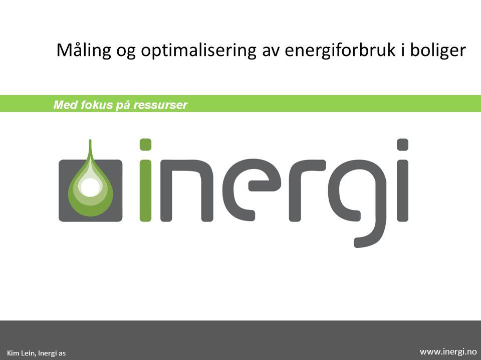 Måling og optimalisering av energiforbruk i boliger
