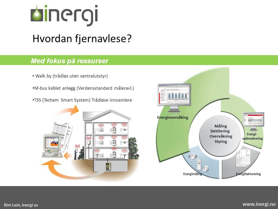 Hvordan fjernavlese Med fokus på ressurser www.inergi.no