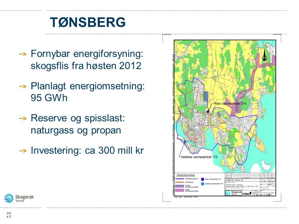 TØNSBERG Fornybar energiforsyning: skogsflis fra høsten 2012