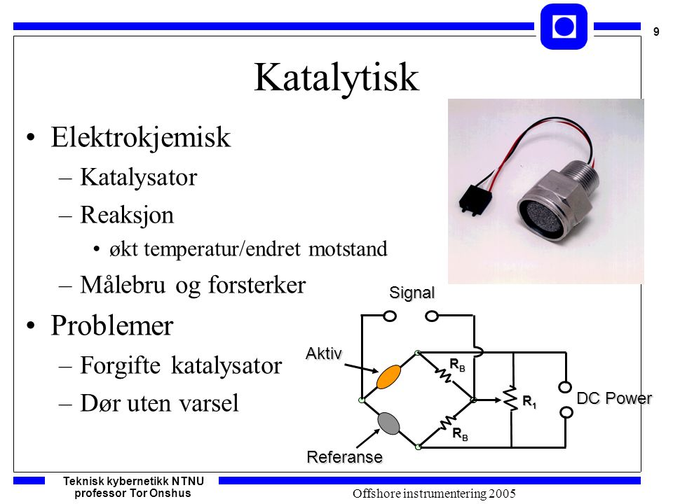 Offshore instrumentering 2005
