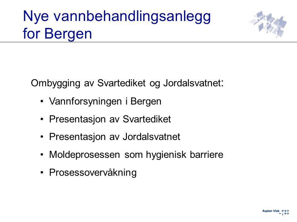 Nye vannbehandlingsanlegg for Bergen