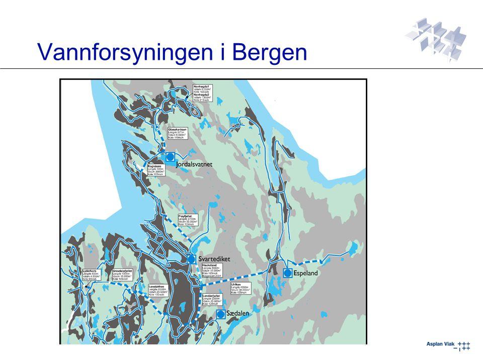 Vannforsyningen i Bergen
