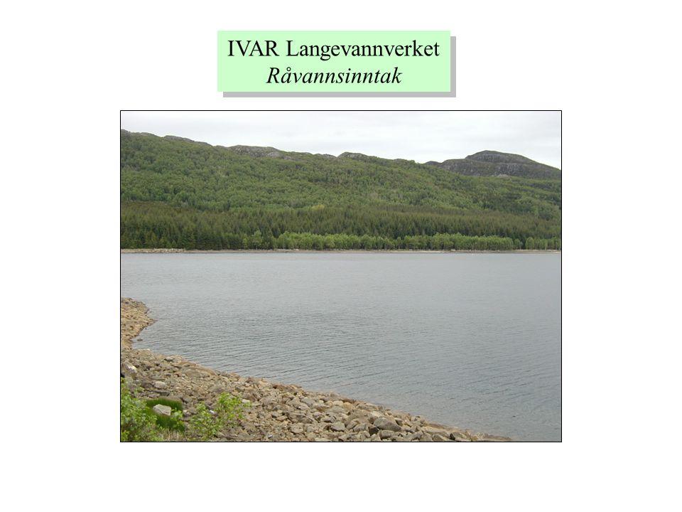 IVAR Langevannverket Råvannsinntak