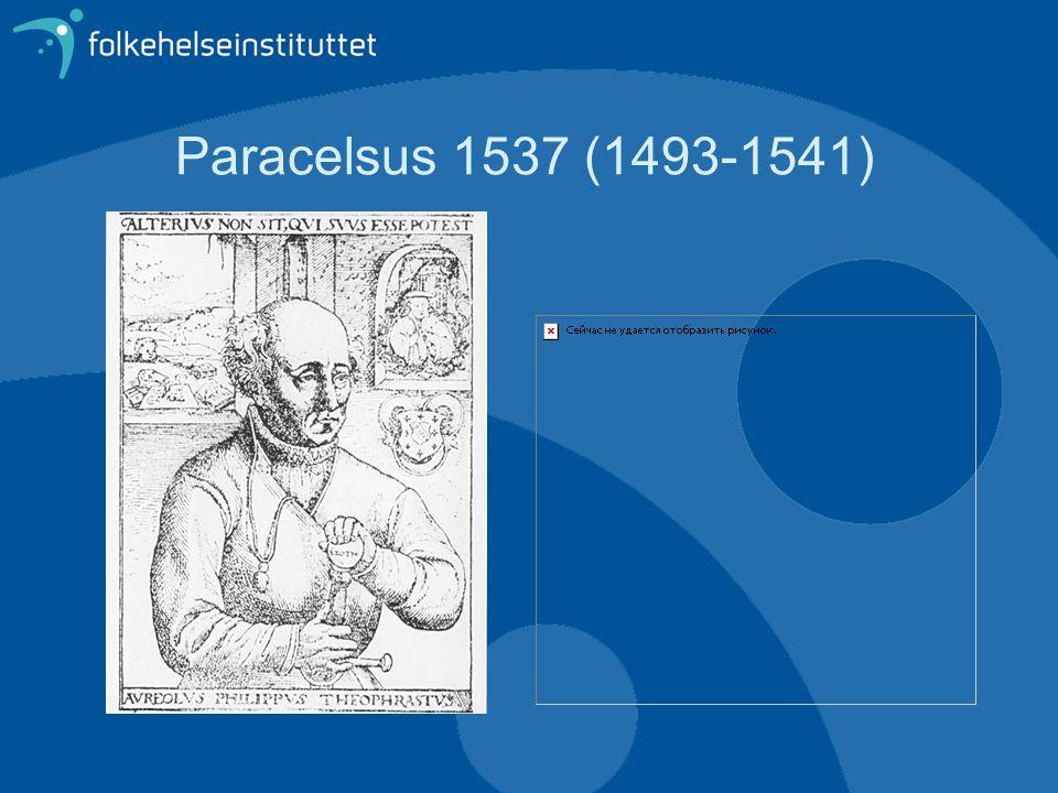 Paracelsus 1537 (1493-1541)