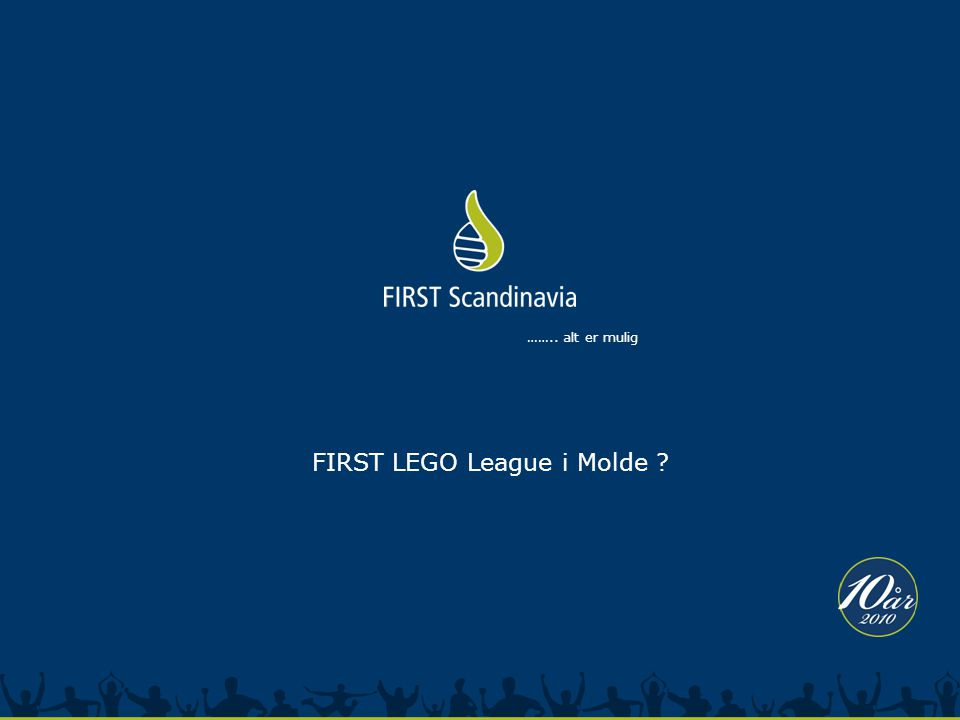 FIRST LEGO League i Molde