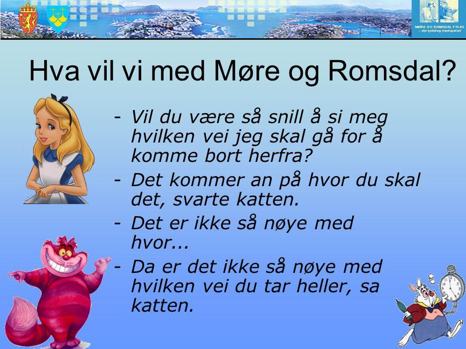 Hva vil vi med Møre og Romsdal