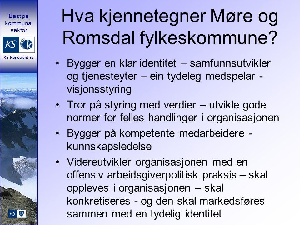 Hva kjennetegner Møre og Romsdal fylkeskommune