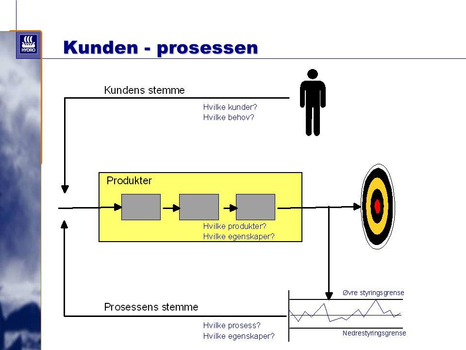 Kunden - prosessen