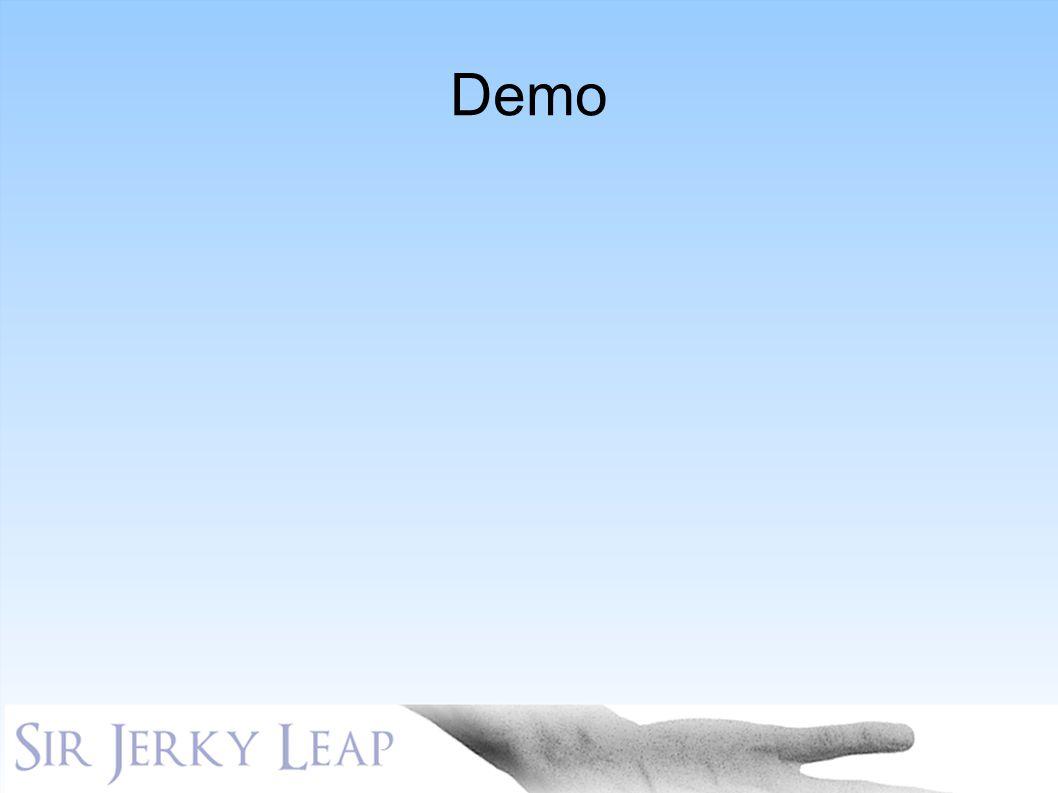 Demo KLIKK funksjonaliteten er der til en hver tid, men den er lite påtrengende. KLIKK. Sir Jerky Leap har et innovativt brukergrensesnitt KLIKK.