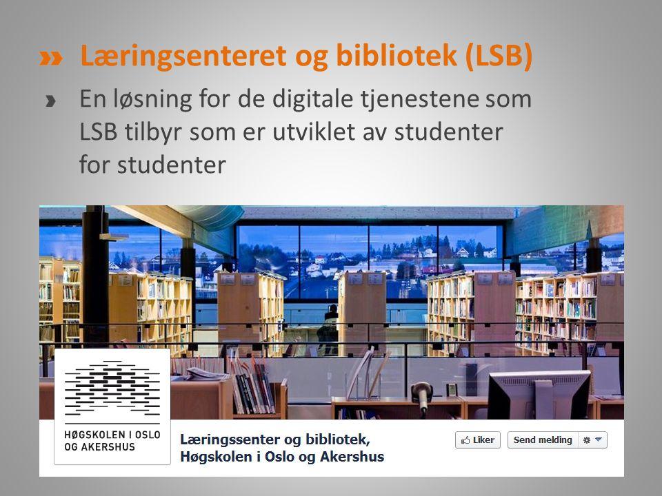 Læringsenteret og bibliotek (LSB)