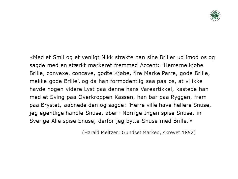 (Harald Meltzer: Gundset Marked, skrevet 1852)