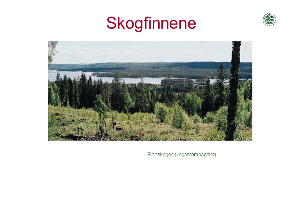 Skogfinnene Finnskogen (Jegercompagniet)