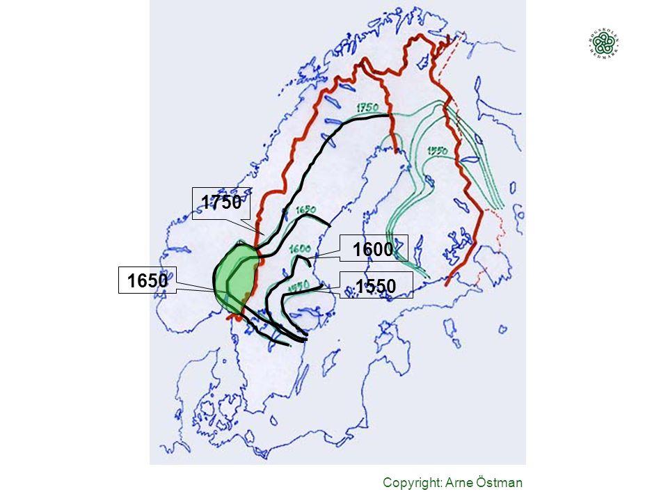 1750 1600 1650 1550 Copyright: Arne Östman