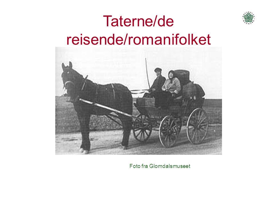 Taterne/de reisende/romanifolket