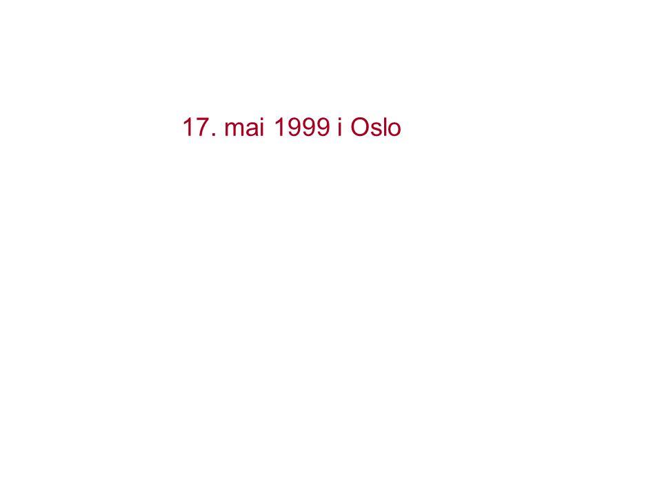 17. mai 1999 i Oslo En sentral begivenhet i norsk innvandringshistorie.