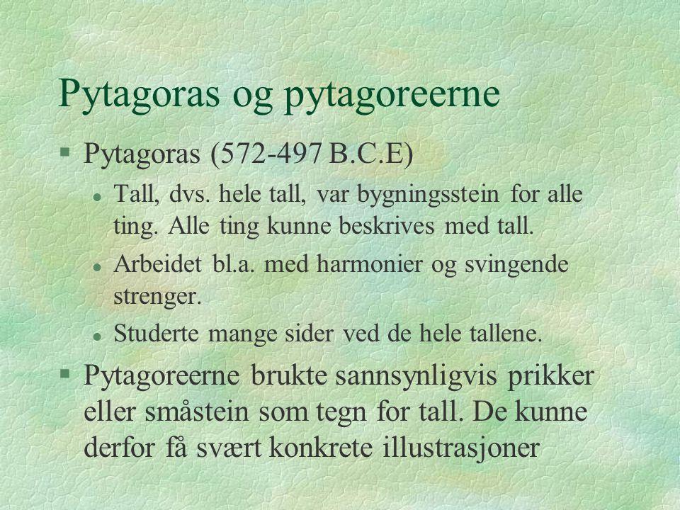 Pytagoras og pytagoreerne