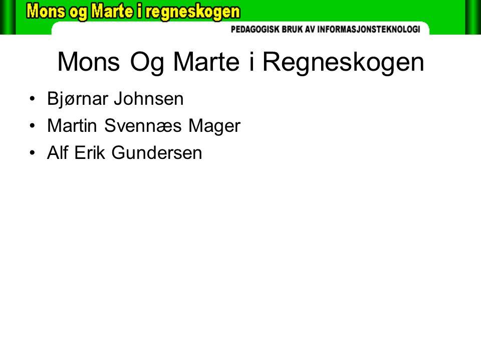 Mons Og Marte i Regneskogen