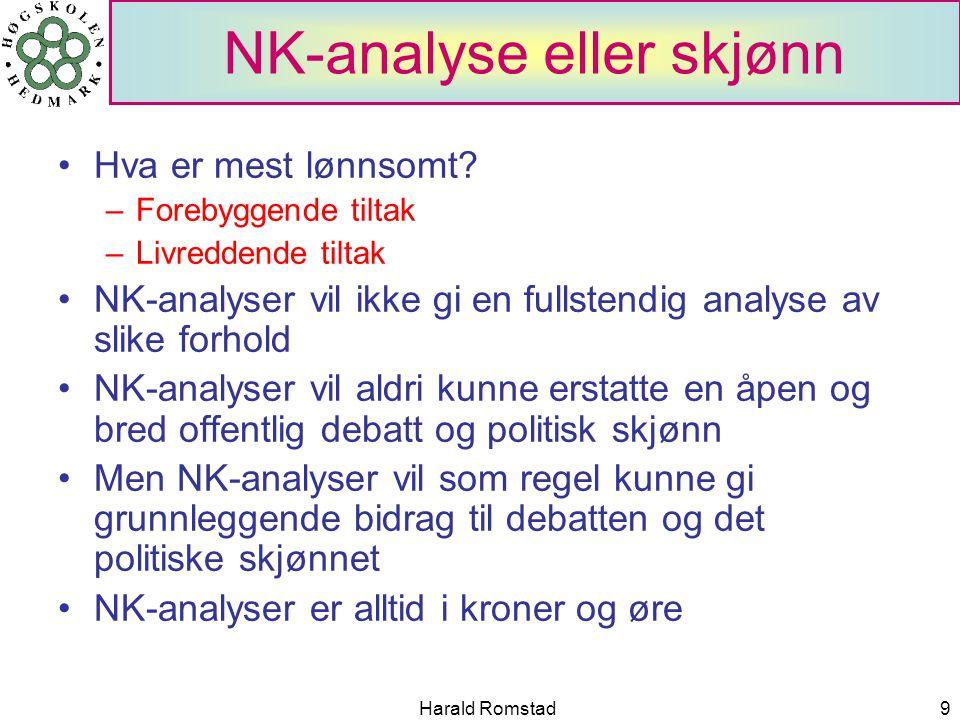 NK-analyse eller skjønn