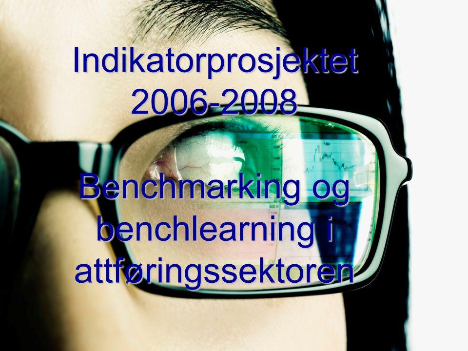 Indikatorprosjektet 2006-2008 Benchmarking og benchlearning i attføringssektoren