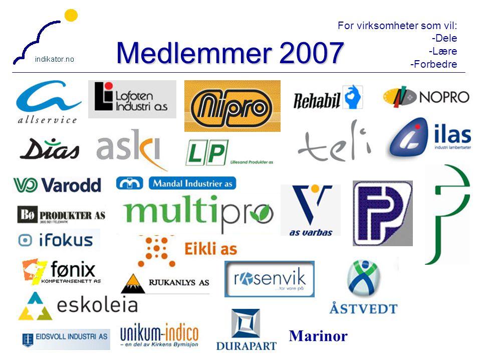 Medlemmer 2007 Marinor