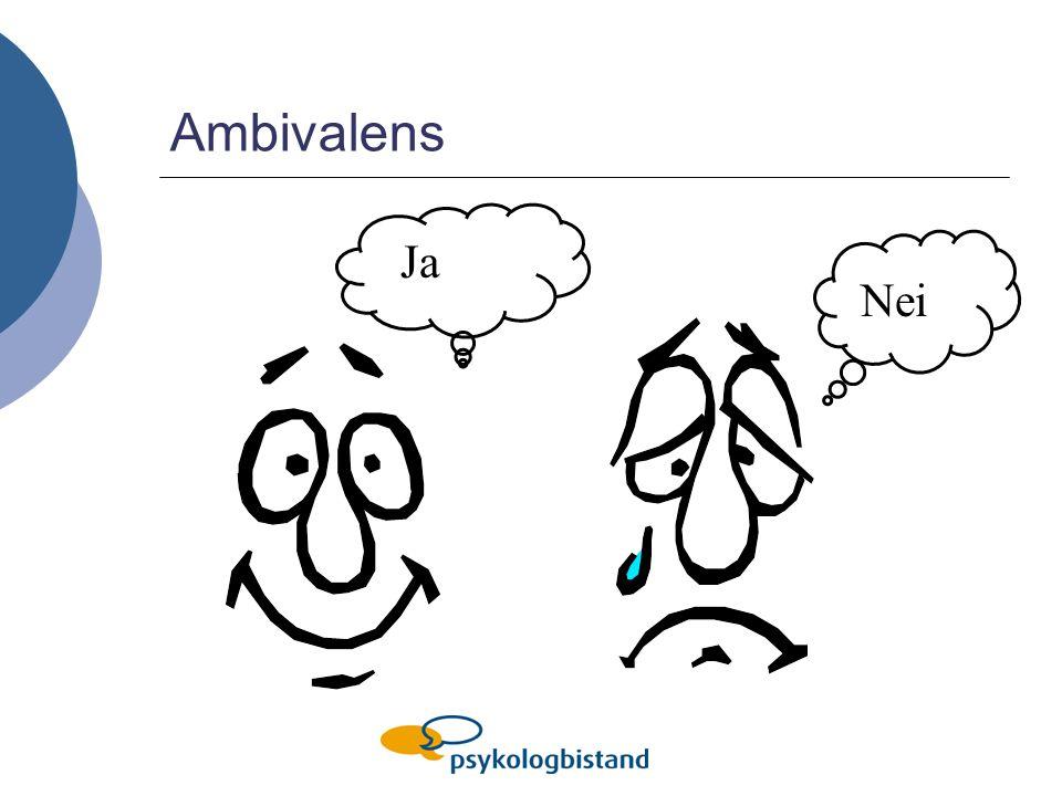 Ambivalens Ja Nei Normalisere Ambivalensparadis Beslutningsvekt