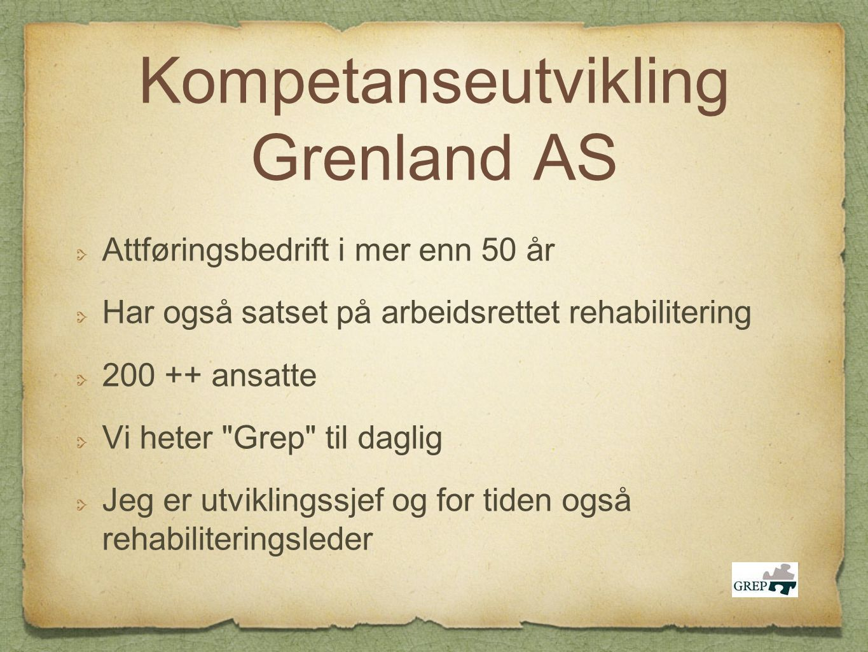 Kompetanseutvikling Grenland AS