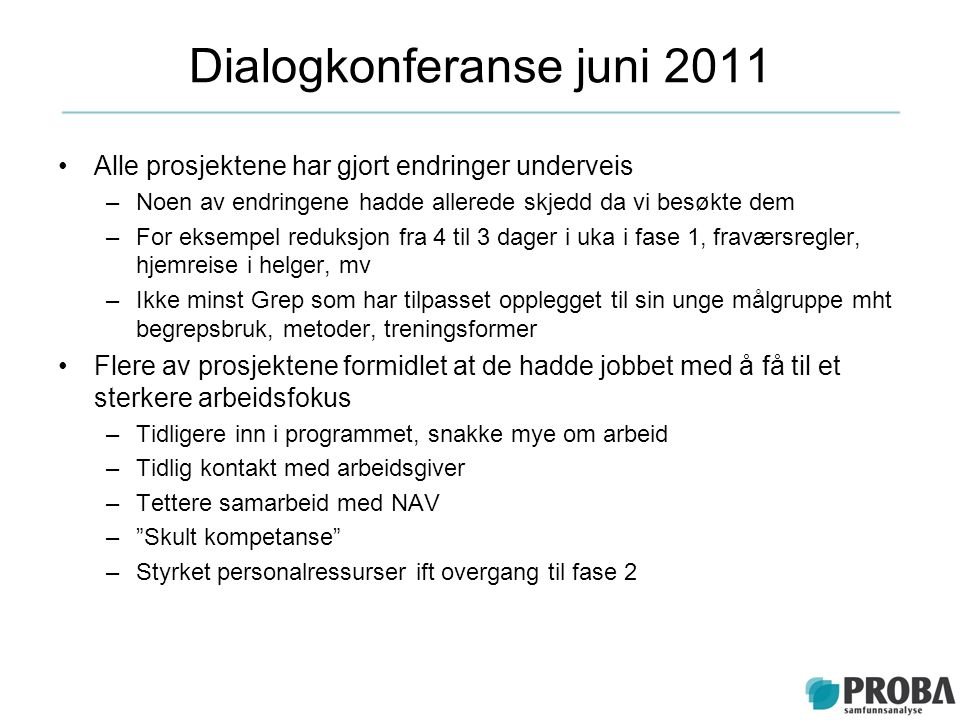 Dialogkonferanse juni 2011