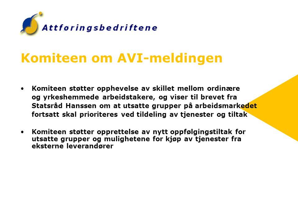 Komiteen om AVI-meldingen
