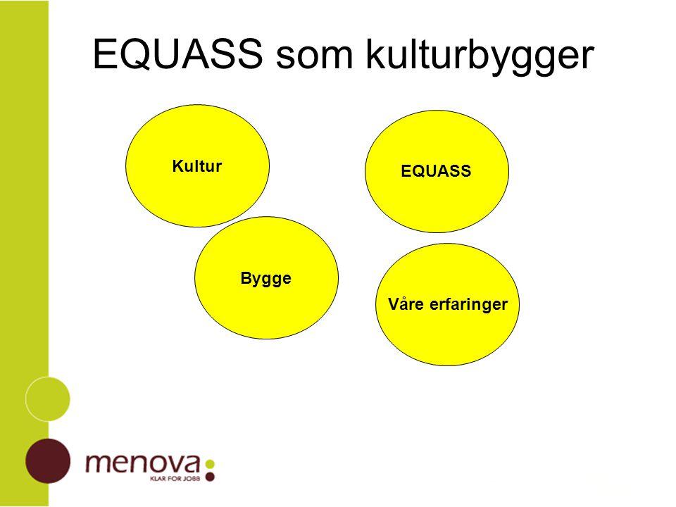 EQUASS som kulturbygger