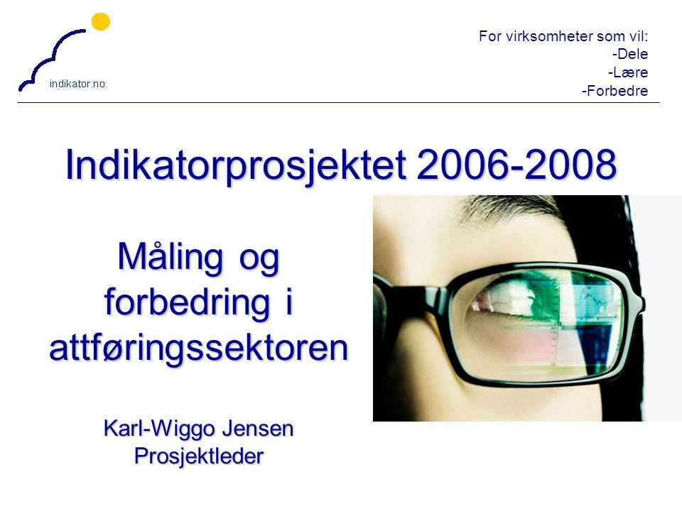 Indikatorprosjektet 2006-2008