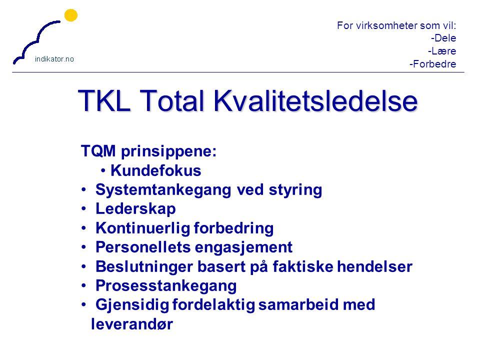 TKL Total Kvalitetsledelse