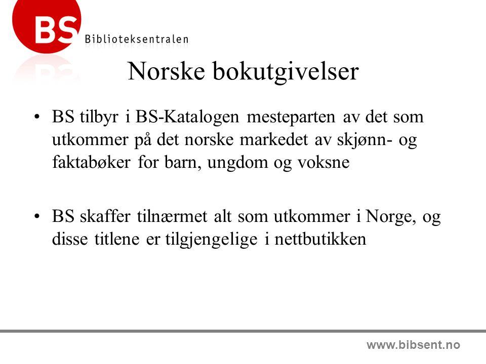 Norske bokutgivelser