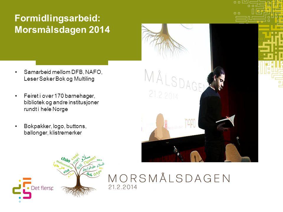 Formidlingsarbeid: Morsmålsdagen 2014