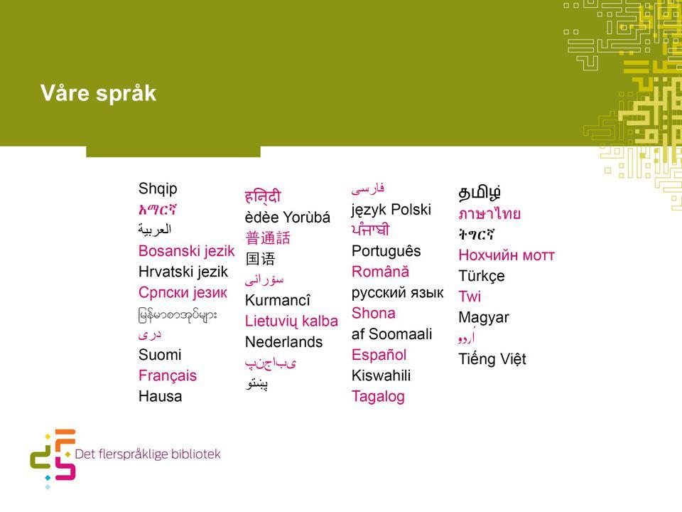 Våre språk 3