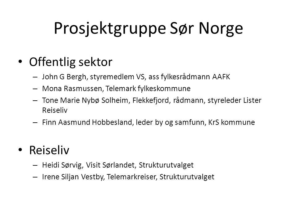 Prosjektgruppe Sør Norge