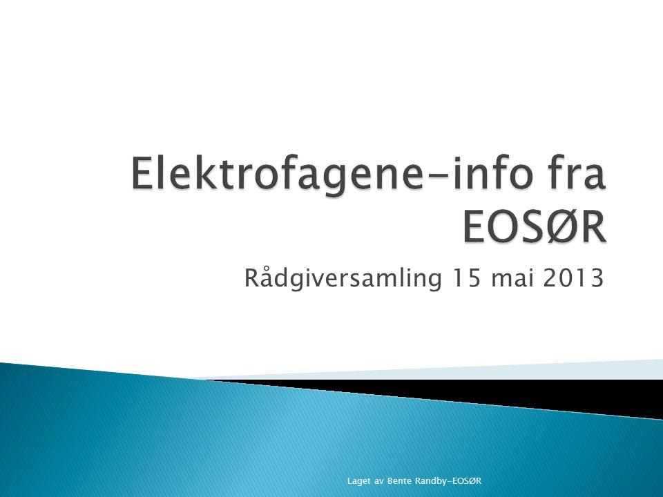 Elektrofagene-info fra EOSØR