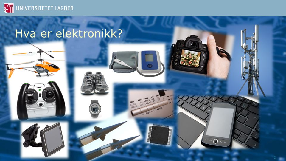 Hva er elektronikk