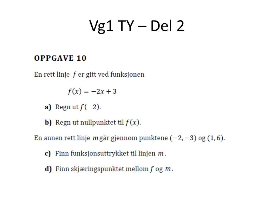 Vg1 TY – Del 2