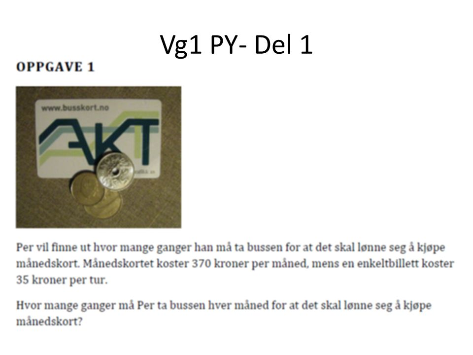 Vg1 PY- Del 1