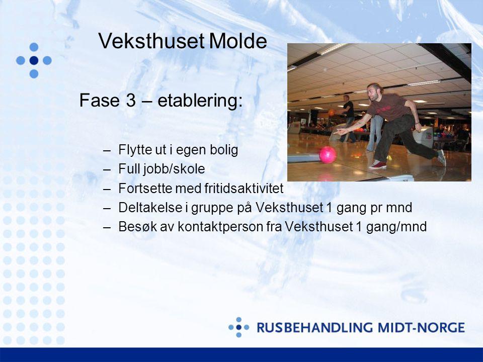 Veksthuset Molde Fase 3 – etablering: Flytte ut i egen bolig