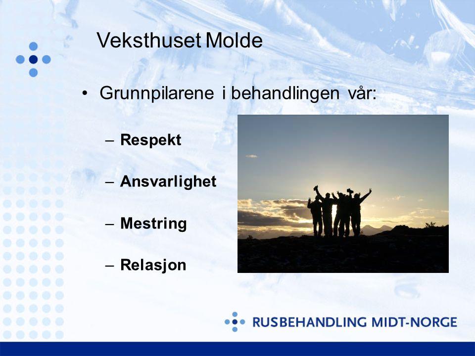 Veksthuset Molde Grunnpilarene i behandlingen vår: Respekt