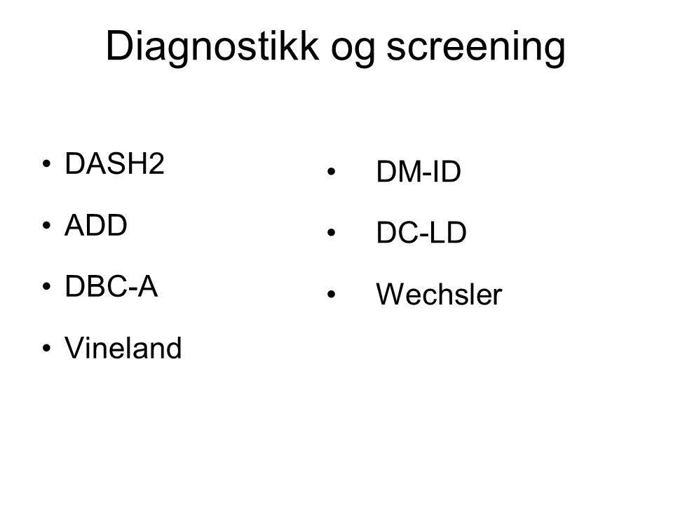 Diagnostikk og screening