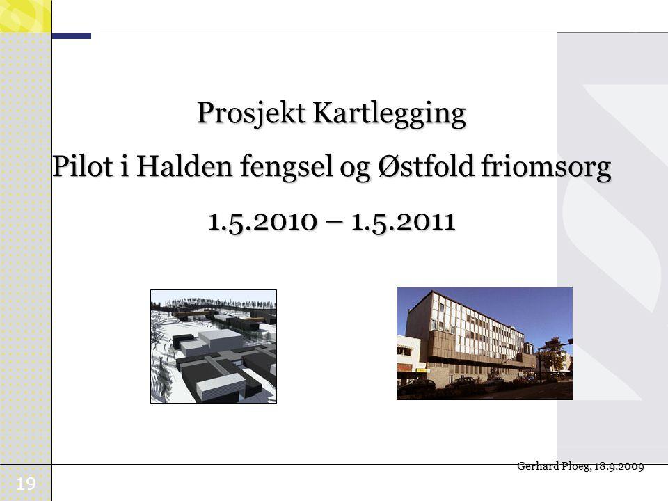 Pilot i Halden fengsel og Østfold friomsorg