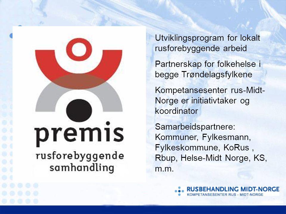 Utviklingsprogram for lokalt rusforebyggende arbeid