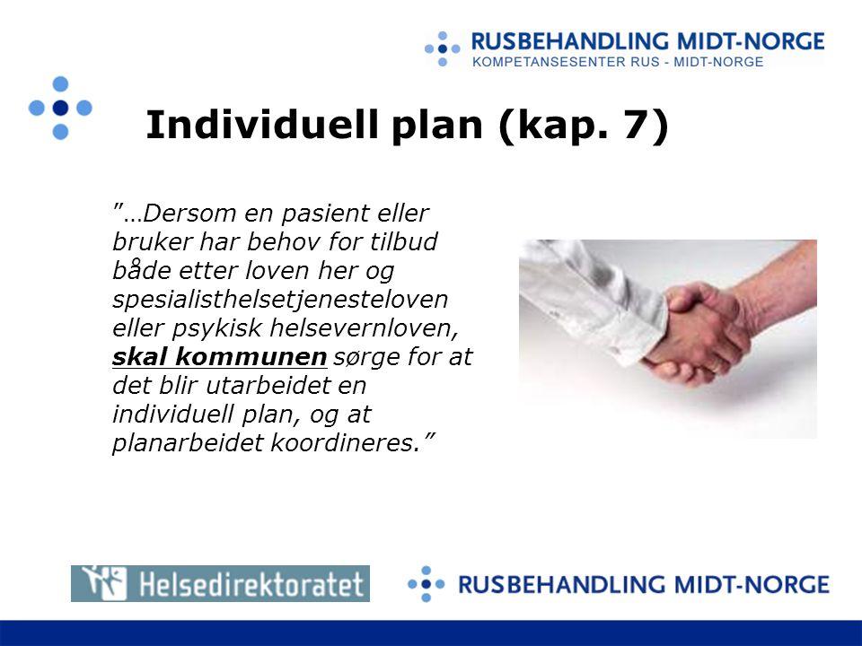 Individuell plan (kap. 7)