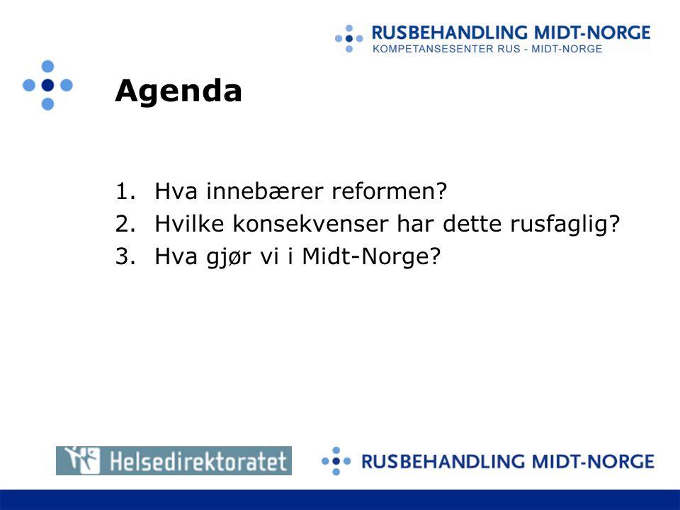 Agenda Hva innebærer reformen
