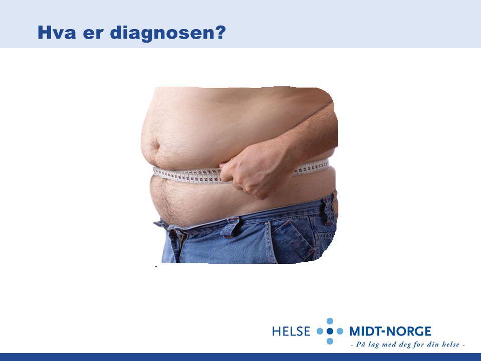 Hva er diagnosen